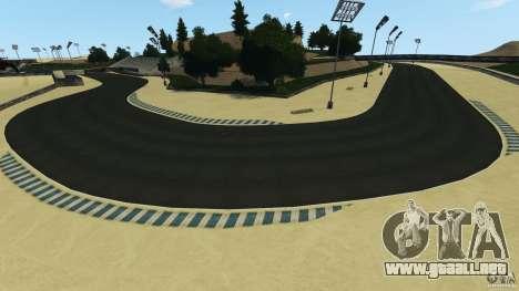 Laguna Seca [HD] Retexture para GTA 4 octavo de pantalla