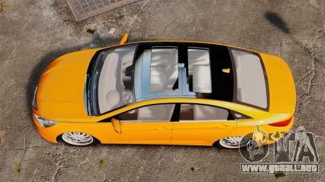 Hyundai Sonata 2011 v2.0 para GTA 4 visión correcta