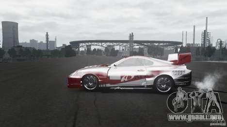 Toyota Supra Apexi Race System para GTA 4 left