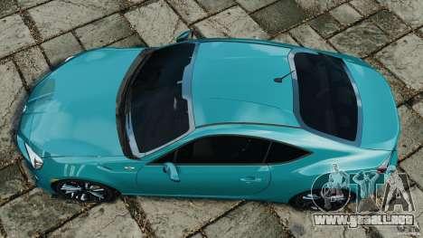 Scion FR-S para GTA 4 visión correcta