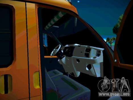 Empresas gacela 2705 para vista lateral GTA San Andreas