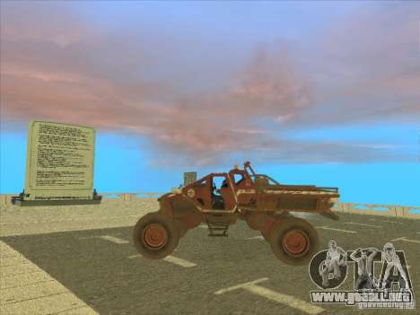 Wingy Dinghy v1.1 para GTA San Andreas vista posterior izquierda