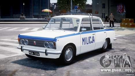Fiat 125p Polski Milicja para GTA 4