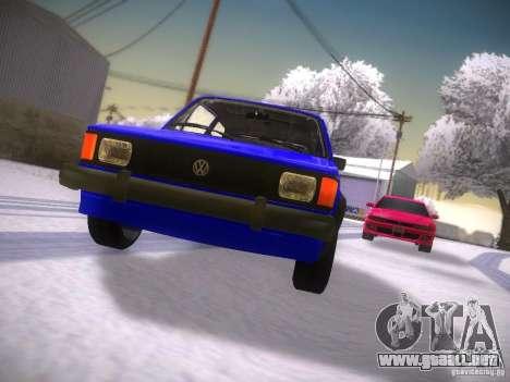 Volkswagen Rabbit GTI para visión interna GTA San Andreas
