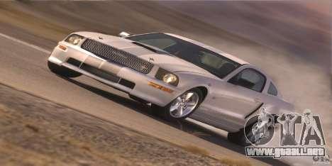 Pantallas de carga en el estilo del Ford Mustang para GTA San Andreas novena de pantalla