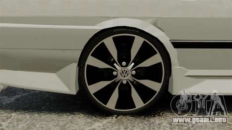 Volkswagen Santana Shanghai Century Rookie para GTA 4 vista hacia atrás