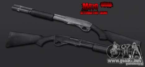 M870 Black para GTA San Andreas segunda pantalla