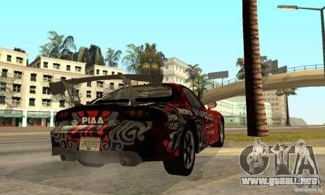 Mazda RX-7 FD3S para la visión correcta GTA San Andreas