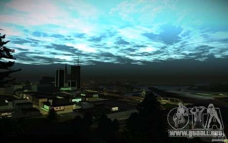 Timecyc para GTA San Andreas novena de pantalla
