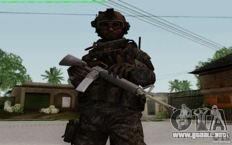 M16A2 para GTA San Andreas segunda pantalla