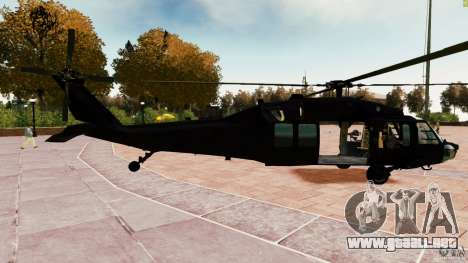 MH-60K Black Hawk para GTA 4 left