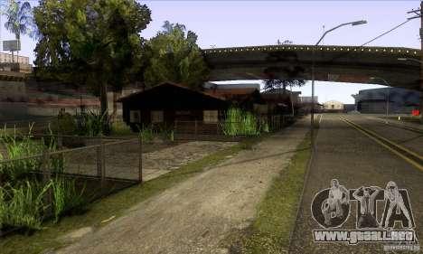 Grove Street Retextured para GTA San Andreas tercera pantalla