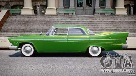Plymouth Belvedere 1957 v1.0 para GTA 4 left
