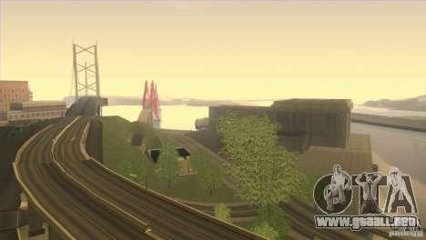 Shine Reflection ENBSeries v1.0.1 para GTA San Andreas segunda pantalla