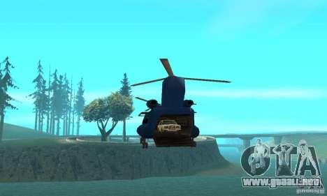 CH-47 Chinook ver 1.2 para visión interna GTA San Andreas