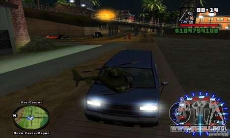 RC mod para GTA San Andreas sucesivamente de pantalla
