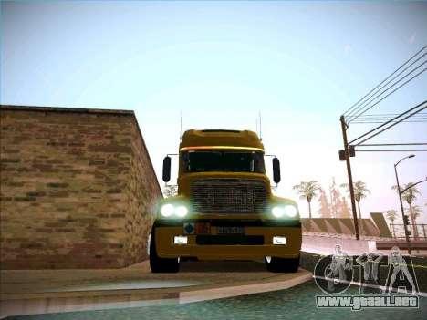 Freightliner Century Classic para visión interna GTA San Andreas
