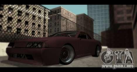 Ruedas Pak JDM para GTA San Andreas tercera pantalla