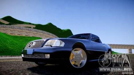 Mercedes SL 500 AMG 1995 para GTA 4 vista hacia atrás