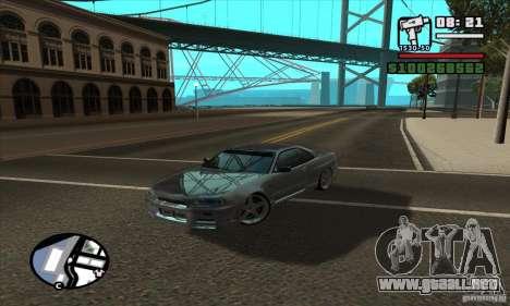 Enb Series HD v2 para GTA San Andreas quinta pantalla