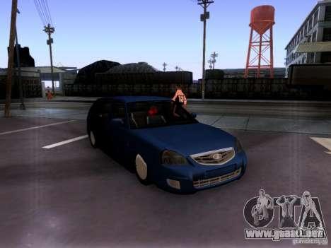Lada Priora sedán para GTA San Andreas
