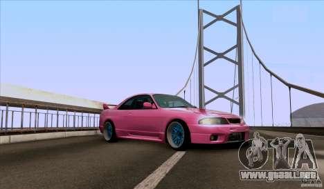 Nissan Skyline GTR 33 Fatlace para GTA San Andreas