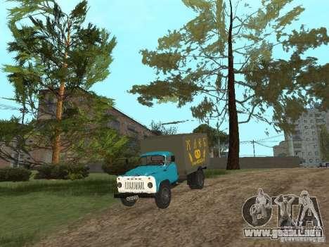GAZ 52 para visión interna GTA San Andreas