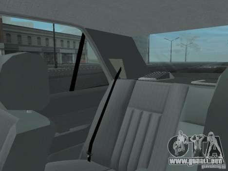 Mercedes-Benz 250D para vista inferior GTA San Andreas