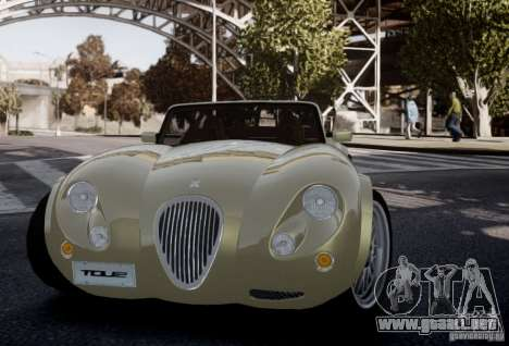 Wiesmann MF3 Roadster Final para GTA 4 vista interior