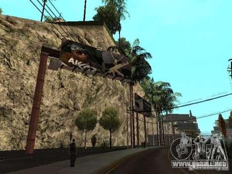 Rep cuarto v1 para GTA San Andreas sucesivamente de pantalla