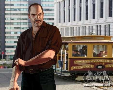 Pantalla de arranque en San Francisco para GTA 4 tercera pantalla