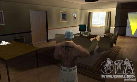 CJ Total House Remode para GTA San Andreas segunda pantalla