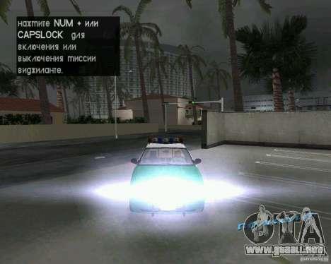 Ford Crown Victoria 2003 Police para GTA Vice City vista lateral