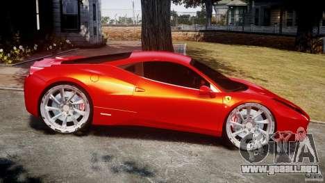 Ferrari 458 Italia Dub Edition para GTA 4 left