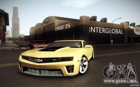 Beautiful ENBSeries para GTA San Andreas segunda pantalla