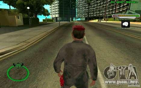 Mechanik HD Skin para GTA San Andreas tercera pantalla