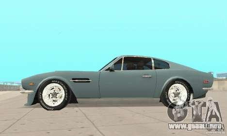 Aston Martin V8 para la visión correcta GTA San Andreas