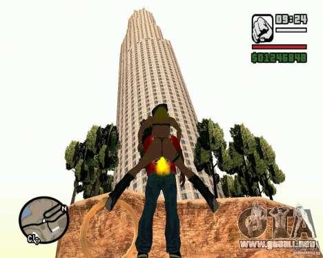 La torre inclinada de Pisa para GTA San Andreas tercera pantalla