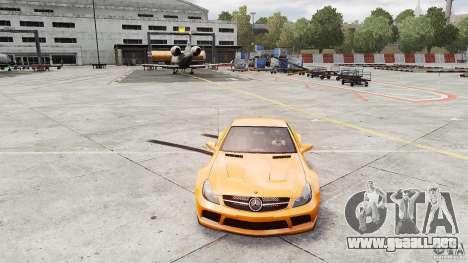 Mercedes-Benz SL65 AMG Black Series 2009 [EPM] para GTA 4 visión correcta