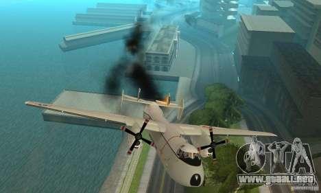 C-2 Greyhound para la vista superior GTA San Andreas
