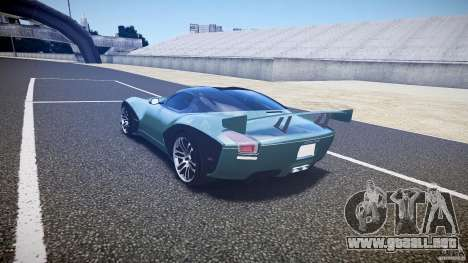 Devon GTX 10 v1.0 para GTA 4 visión correcta