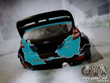 Ford Fiesta RS para la visión correcta GTA San Andreas
