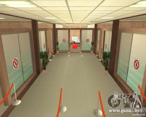 Banco en Los Santos para GTA San Andreas segunda pantalla