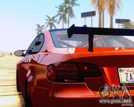 BMW M3 GT-S 2011 para la visión correcta GTA San Andreas