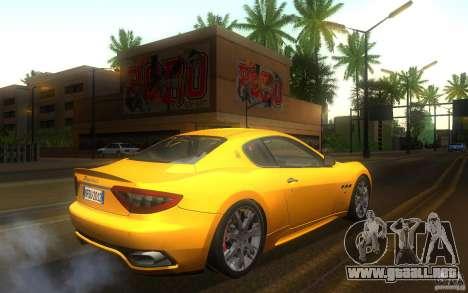 Maserati Gran Turismo S 2011 para la visión correcta GTA San Andreas