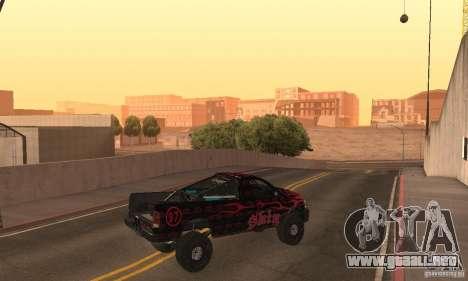 Dodge Power Wagon Paintjobs Pack 1 para GTA San Andreas vista posterior izquierda