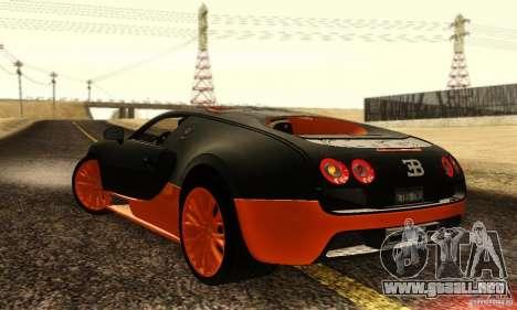 Bugatti Veyron SuperSport para la visión correcta GTA San Andreas