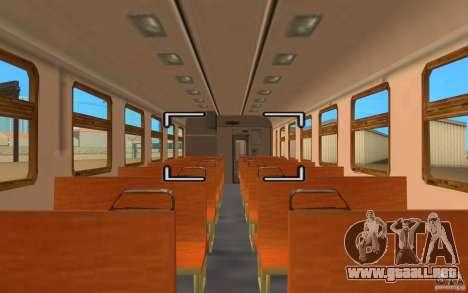 Tren ER2-K-1321 para la visión correcta GTA San Andreas