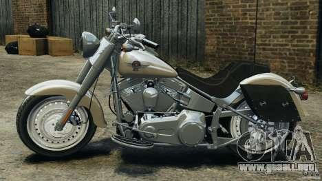 Harley Davidson Softail Fat Boy 2013 v1.0 para GTA 4 left