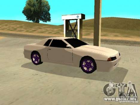 New Elegy v.1 para GTA San Andreas vista hacia atrás